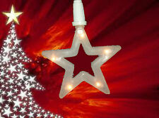 Star Christmas Decoration 10 Stars With 5 LED's Christmas Curtain Lights 2948