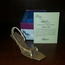 Just The Right Shoe Raine Originals Snakes Alive #25168 2002 *Mint* With Box