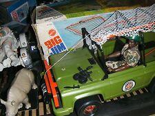 ancienne jeep big jim SAFARI JUNGLE patrol 1976 avec BIG JACK safari + Boite