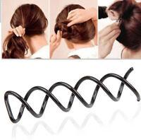 10PCS Beauty Beauteous Spiral Spin Screw Design Pin Hair Clip Twist Barrette