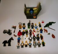 Lot of 28 LEGO Minifigures & Accessories MIXED