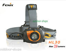 Fenix HL30 Cree XP-G R5 LED max 230 lumens 2AA headlamp(Orange)with strap