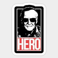 Marvel Comic Writer Stan Lee Hero Vinyl Bumper Bottle Phone Laptop Decal Sticker