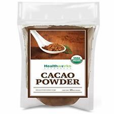 Healthworks Cacao Powder (16 Ounces / 1 Pound)   Cocoa Chocolate Substitute   Ce