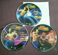 Shaun T's Hip Hop Abs Fitness 2.5 hour work out dance 3 Disc dvd set DISCS ONLY