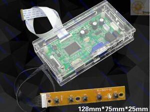 2556 edp controller board Case Enclosure HDMI VGA Box Acrylic shell protective