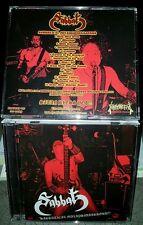 Sabbat-Live en Malaisie (Jap), CD (Heavy Metal Cult)