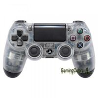 Custom Mod Front Housing Shell for Sony PS4 Pro Slim Controller Clear JDM-040