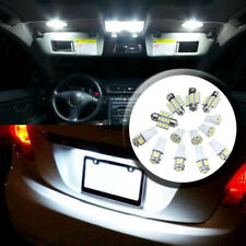 Car White LED Package Interior For Dome Map License Lights T10 & 31mm Bulb Lamp