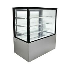 Peakcold Refrigerated Glass Sided Bakery Cake Display Case Floor Standing