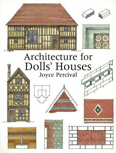 Doll House Dollhouse Design Period Architecture / Detailed Book