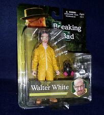 "Breaking Bad WALTER WHITE - YELLOW HAZMAT SUIT 6"" Figure Mezco AMC Series"
