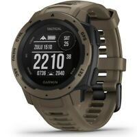 Garmin Instinct Tactical Edition Rugged GPS Watch Coyote Tan 010-02064-71