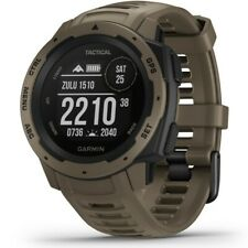Garmin Instinct Tactical Outdoor-smartwatch marron clair 010-02064-71