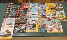 57 Lego Manuals + 2 Lego Marvel Super Heroes Comics