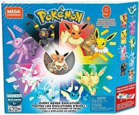 MATTEL Pokemon Eevee Block 470 pieces GFV85 GFV 85 Multi-Color 0887961770582