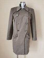 NINA RICCI - Coat - Trench - Gray Beige - Size 38fr