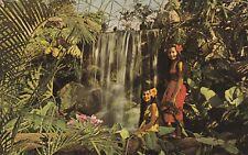 """*Missouri Postcard-""""Two ladies...@ Climatron, Geodesic Dome"""" /Botanical Gardens/"""