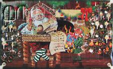 Adventskalender mit 24 Mini-glasfiguren Mundgeblasen Handdekoriert