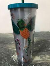 Starbucks Quetzal  Acrylic Cold Cup Tumbler New  24oz