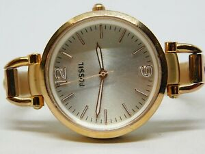 Fossil ES3110 All Stainless Steel Quartz Analog Ladies Watch