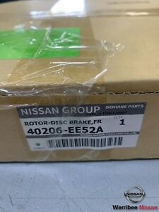 GENUINE NISSAN TIIDA C11 SC11T MR18DE FRONT BRAKE DISC ROTORS 40206-EE52A