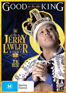 WWE - Jerry Lawler - It's Good To Be The King - 3 Disc Set New Region 4 DVD