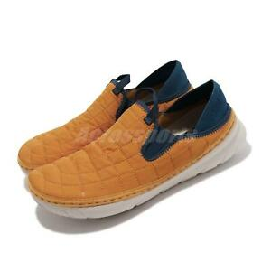 Merrell Hut Moc Gold Yellow Blue White Men Slip On Casual Lifestyle Shoe J001933