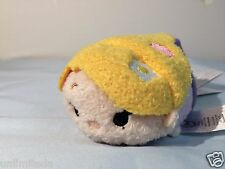 "Disney Store Tangled Rapunzel Princess Mini Tsum Tsum 3.5"" Authentic NWT"