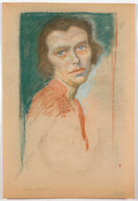 "Erwin Stolz (1896-1987) ""Female portrait"" The New Objectivity, ca. 1925"