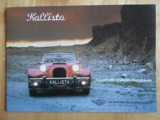 PANTHER KALLISTA 1.6 & 2.8 Litre orig 1980s UK Mkt Sales Brochure