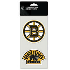 "Boston Bruins 2 Pack 4""x4"" Car Decals [NEW] Auto Emblem Sticker NHL CDG"