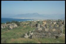 047126 Ruins The Turquoise Coast Near Side A4 Photo Print