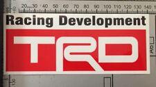 TRD Toyota Racing Development Turbo Car Drift JDM Wall Decal Full Colour Sticker