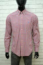 RALPH LAUREN Camicia Slim Uomo Taglia L Chemise Camicetta Maglia Shirt Men's