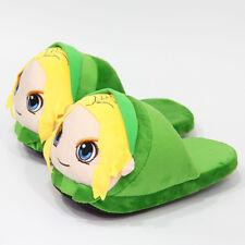 The Legend of Zelda plush warm indoor slipper shoes shoe cartoon cute new