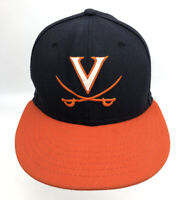 Virginia Cavaliers UVA Hoops New Era 59Fifty Fitted Hat Cap Size 7 1/8 W