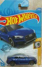 2020 Hot Wheels HW Turbo 2/5 #118/250 Audi RS 5 Coupe Blue J5 Wheels 1/64  NEW