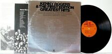 """KENNY ROGERS/FIRST EDITION """"GREATEST HITS"""">12"""" RECORD ALBUM/SLEEVE/INSERT>G>1971"""