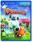 Little Deviants (PS Vita) Sony PlayStation PS Vita Brand New