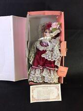 Kingstate Dollcrafter Porcelain Victorian Girl  Cat