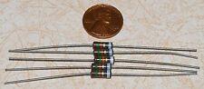 Five 15K ohm 1/2W Carbon Comp Resistors NOS 5%