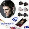 Mini TWS Twins Wireless Bluetooth 4.1 Stereo Headset In-Ear Earphone Earbuds Lot
