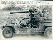 1974 Press Photo XR-311 Dune Buggy Reconaissance Vehicle Armed With TOW