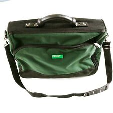 United Colors of Benetton Shoulder Bag Green Overnight Travel Strong