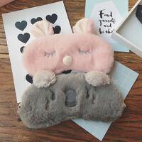 KE_ KQ_ KQ_ Rabbit/Koala Eye Cover Sleep Mask Nap Shade Rest Aid Blindfold Bab