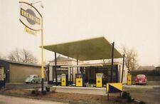 Ansichtskarte: Tankstelle, Ruhrgebiet, 1960-er Jahre. Foto von Wilhelm Reimers