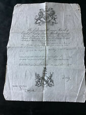 More details for rare victorian 1874 passport signed earl of derby foreign politics int.