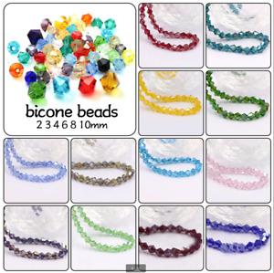 High Quality Austria Crystal Bicone Loose Beads Czech Jewelry Making 200PCS