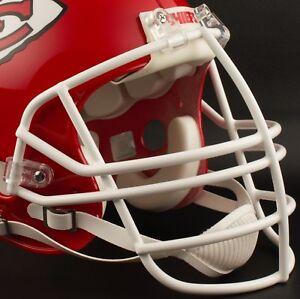 KANSAS CITY CHIEFS NFL Schutt NJOP Football Helmet Facemask / Faceguard